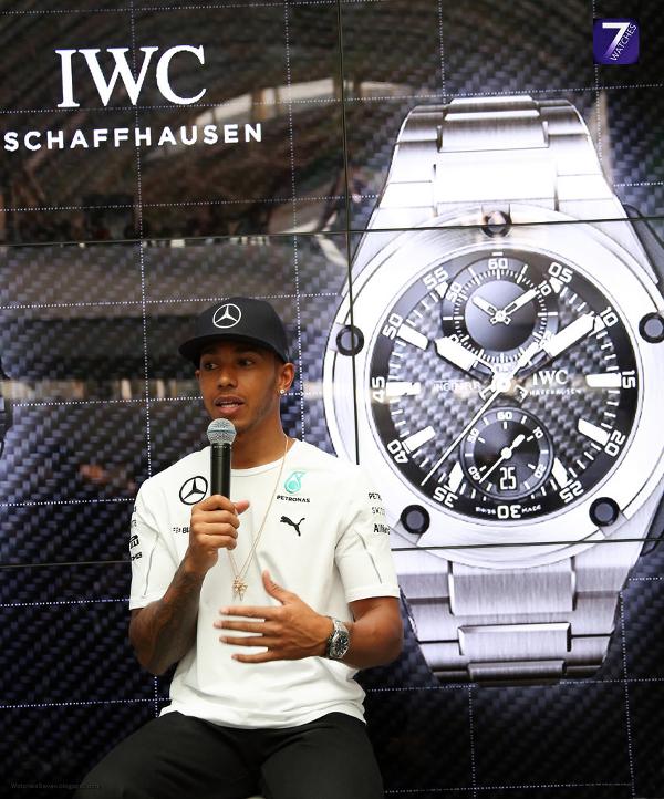 IWC Watches & Lewis Hamilton