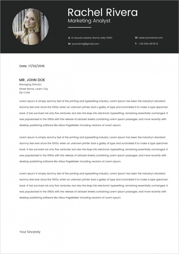 cover letter marketing analyst The sample below is for a marketing analyst resume this resume was written by a resumemycareer professional resume writer, and demonstrates how a resume for a.