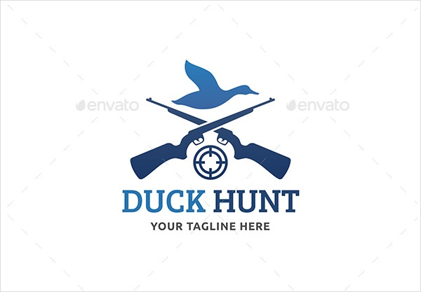 duck hunting logo