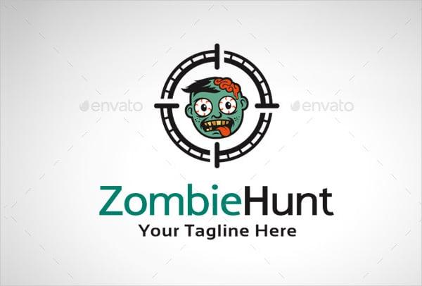 funny hunting logo
