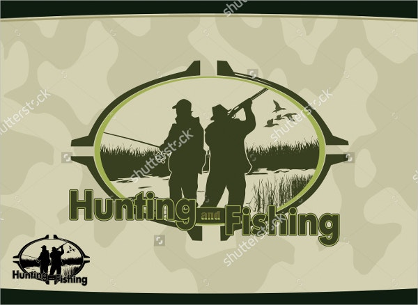 fishing hunting logo