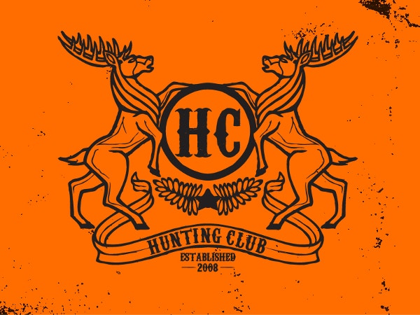 elk hunting club logo