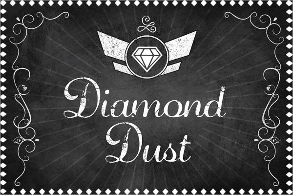 Diamond Dust Tattoo Font