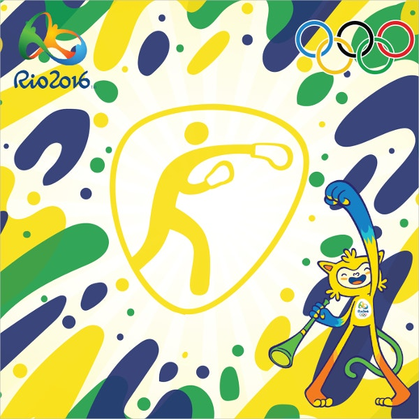 Olympics Rio Boxing Artwork