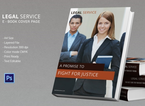 legal services ebook cover page