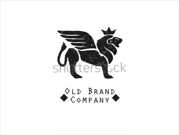 Lion with Wings Logo