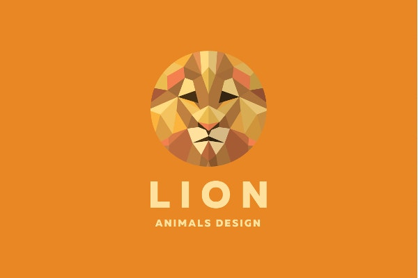 Orange Lion Logo