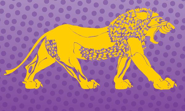 Lion Logo Vector Free vector
