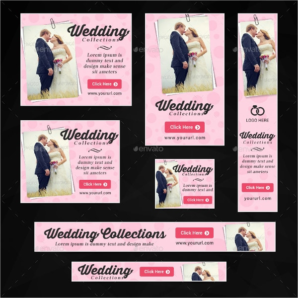 wedding banner template