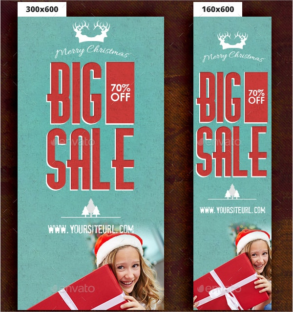 Christmas Banner Ad Template