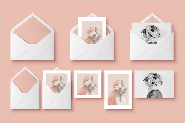 Greeting Cards Envelope Template