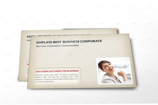 Envelop Postcard Psd Template