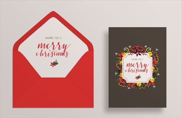 Printable Greeting Card & Envelope