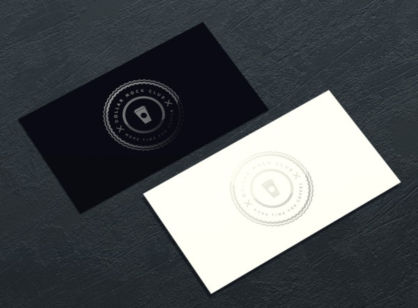 gloss fx spot uv business card