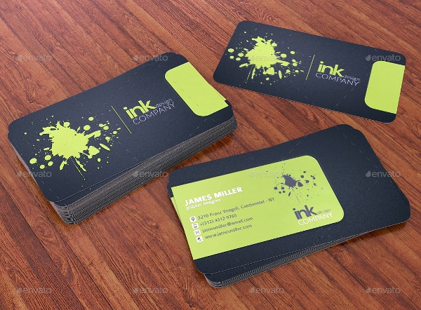Spot uv business cards 15 free psd ai vector eps format double sided spot uv business card wajeb