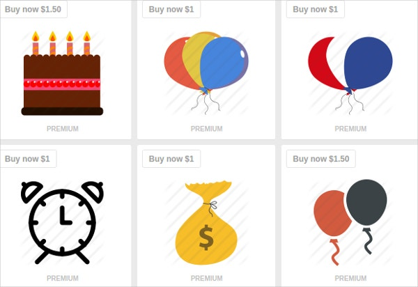 Premium Birthday Icons