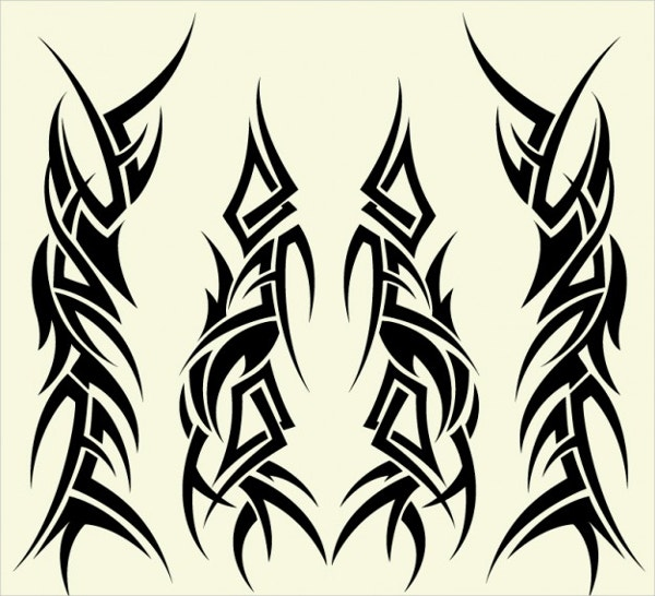 Tribal Tattoo Drawings