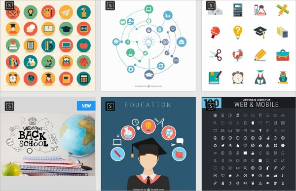 education icons for free download