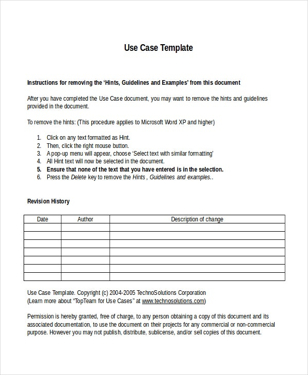 Business Case Templates  Free Sample Example Format  Free