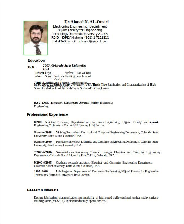 Phd electrical engineering resume / GAINS-HINTS.TK