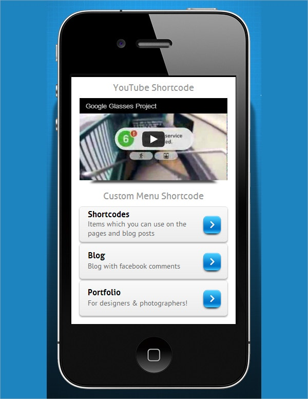 Mobile Blog WordPress Website Theme $29