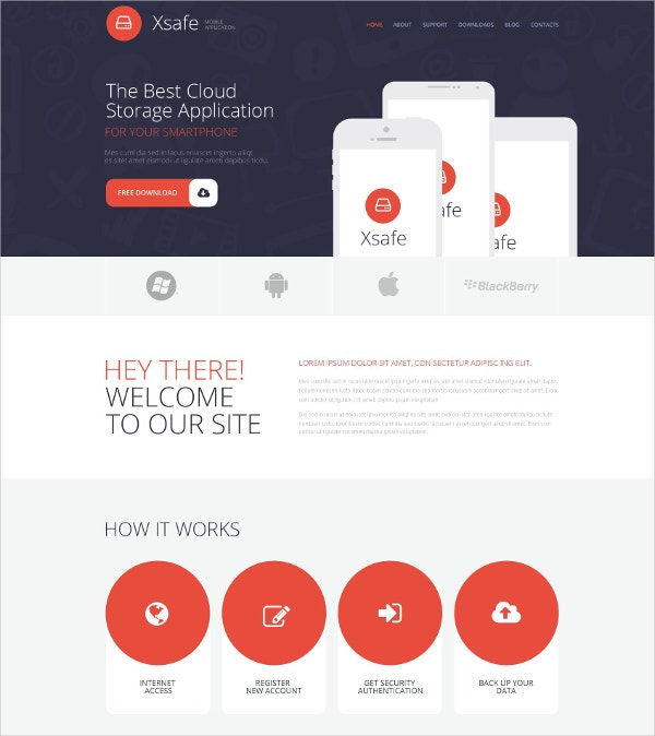 best mobile app store wordpress website theme 75