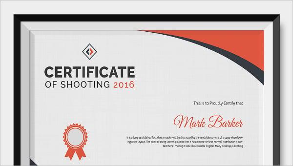 shootingcertificate