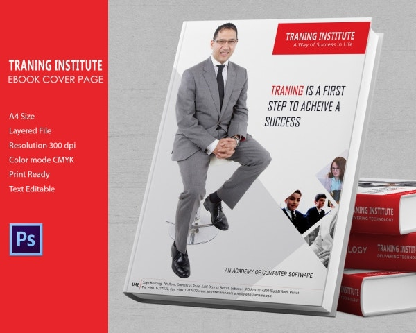 Training Institute Ebook Cover Template