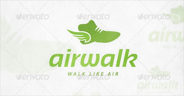 Winged Shoe Logo