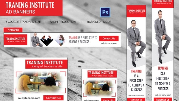 trainning institute template