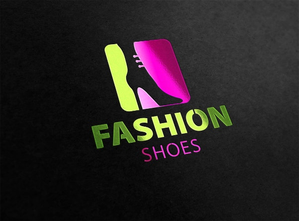 Attractive Shoe Logo