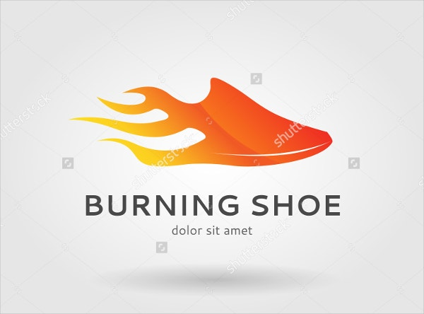 Burning Shoe Logo