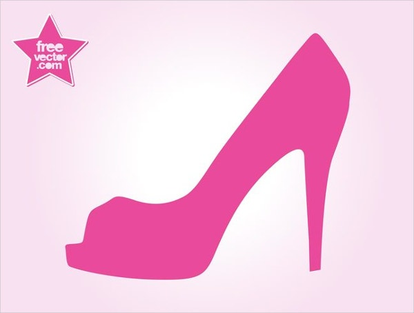 High Heel Shoe Logo