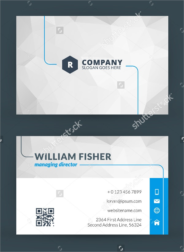 18 information technology business cards free psd ai vector eps modern creative and clean it business card template flashek Images