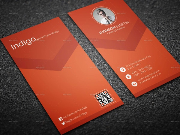 it stylish business card template