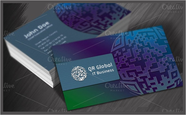 software business card