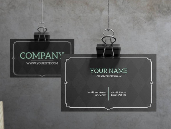 Retro IT Business Card Template