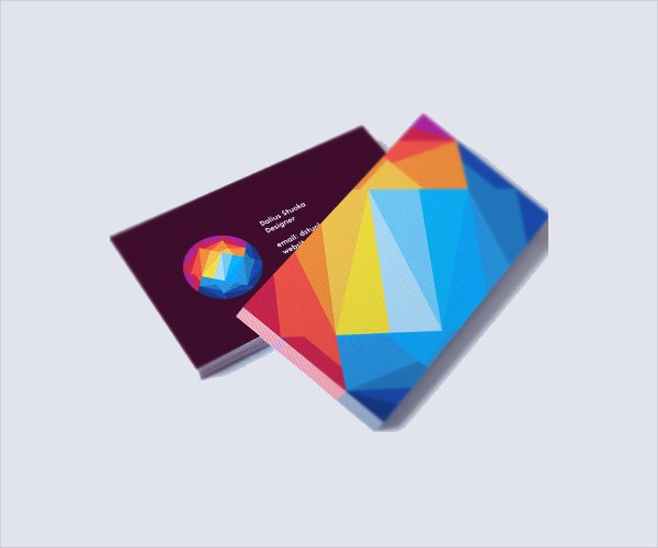 sunset mountain business card