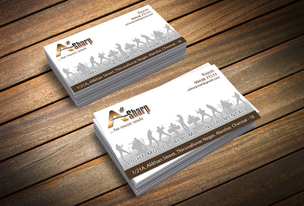 stylish it business card template
