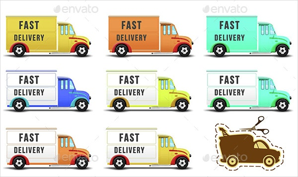 Delivery Trucks Icon