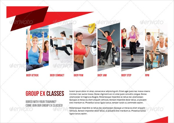 Sport 8 Pages Simple Brochure