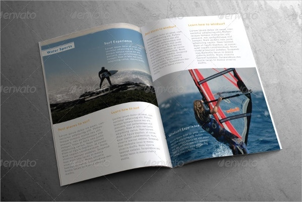 Adventure Sports Brochure Template