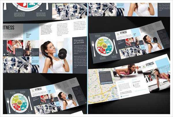 19 Sports Fitness Brochure Templates Free PSD AI Vector EPS – Fitness Brochure Template