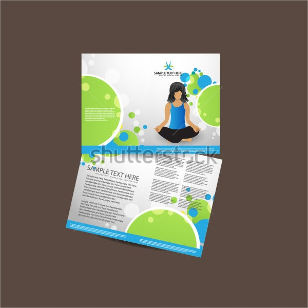Yoga Brochure Template