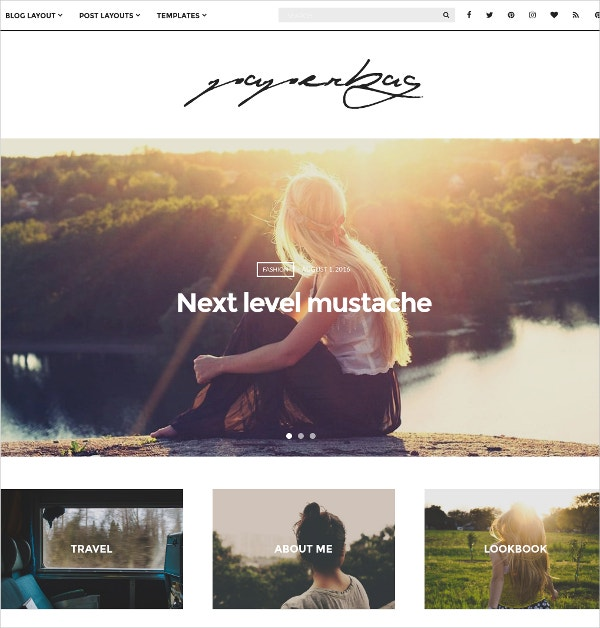 WordPress Travel Blog Theme $49