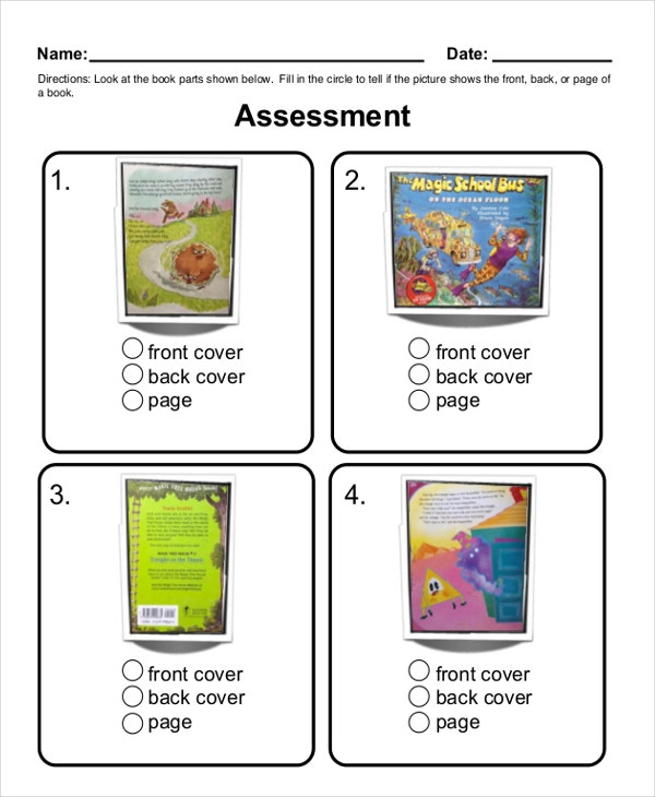 Kindergarten Common Core Sheet Template