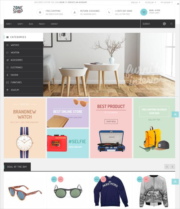 Creative WooCommerce WP eCommerce Theme $48