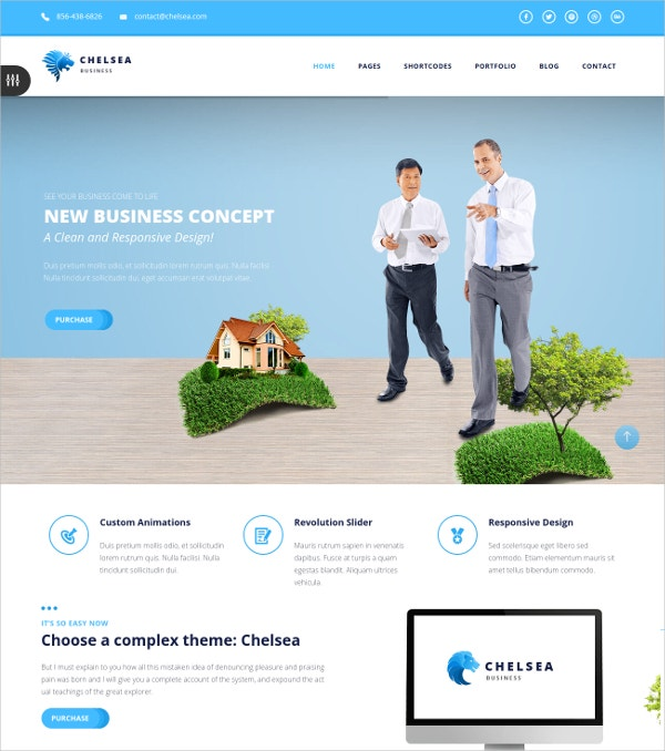 Multipurpose Business Joomla Template $48