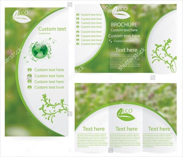 Green Environment Brochure Template