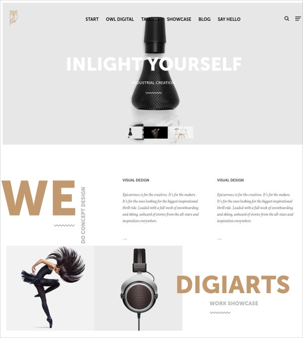 Creative Agency HTML5 WordPress Theme $49
